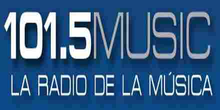 101.5 Radio Music radio station
