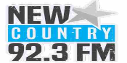 New Country 92.3 FM radio station