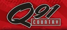 Q91 Country radio station