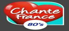 Chante France 80s radio station