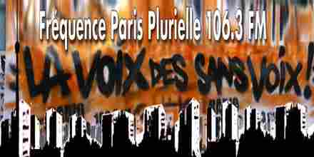 Frequence Paris Plurielle 106.3 FM radio station