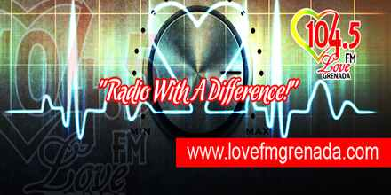 104.5 Love FM Grenada radio station